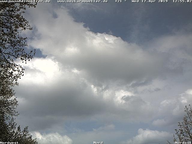 Webcambild aus 68199 Mannheim-Neckarau in Richtung Nord